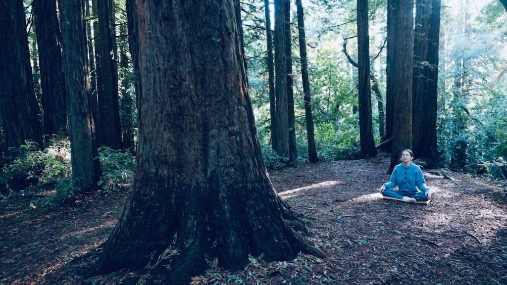 Annie in the woods from Sun and Moon Yogis in Oakland